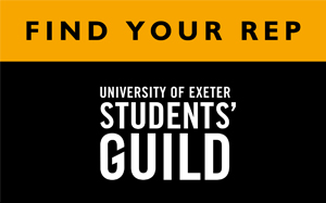 University of Exeter Student Guild - Find Your Rep